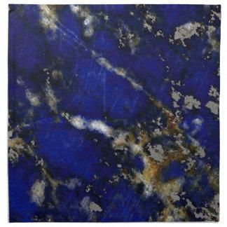 Textura de piedra: Lapislázuli Servilleta