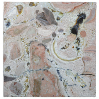 Textura de piedra: Roca del carbonato Servilletas