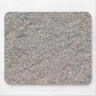 Textura de piedras minúsculas hermosas alfombrilla de ratón