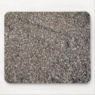 Textura de tierra de la grava tapete de ratón