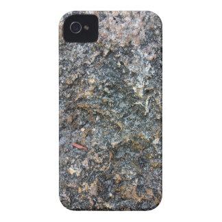 Textura de tierra de la roca detalladamente iPhone 4 Case-Mate cárcasa