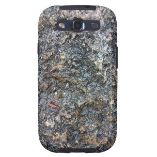 Textura de tierra de la roca detalladamente galaxy SIII protector
