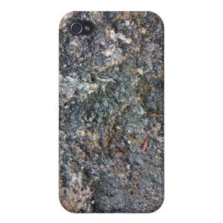 Textura de tierra de la roca detalladamente iPhone 4/4S carcasa