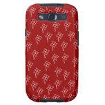 Textura de Trebol de Linda Galaxy S3 Carcasa