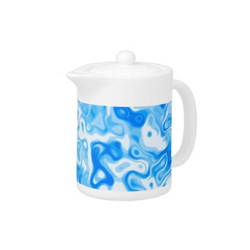 Textura del agua azul