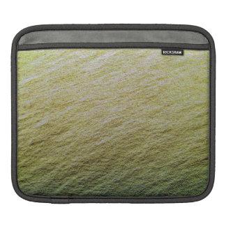 Textura del agua del oro fundas para iPads