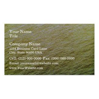 Textura del agua del oro plantillas de tarjetas personales