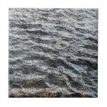 Textura del agua teja cerámica