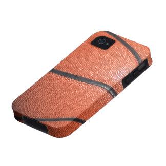Textura del baloncesto Case-Mate iPhone 4 fundas