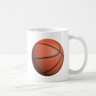 Textura del baloncesto taza de café