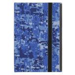 Textura del camuflaje de Digitaces Camo de los azu iPad Mini Coberturas