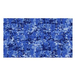 Textura del camuflaje de Digitaces Camo de los Tarjetas De Visita