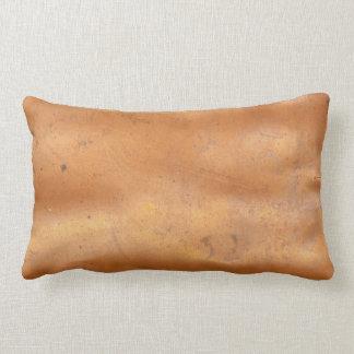 Textura del cobre del metal cojín