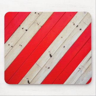 Textura del cojín de ratón de madera pintado - tapetes de raton