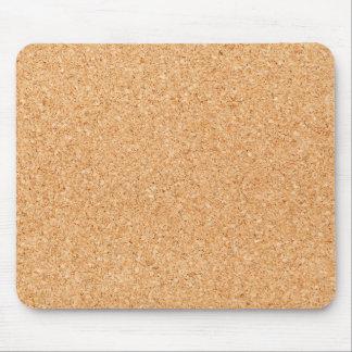 Textura del corcho tapete de raton