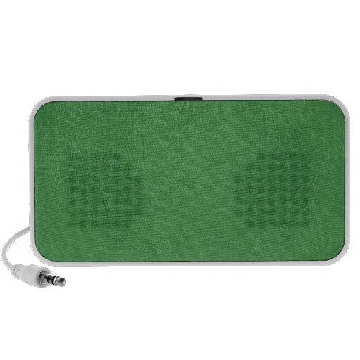 textura del cuero de la verde lima laptop altavoces