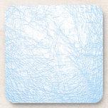 textura del cuero de los azules cielos posavasos de bebida