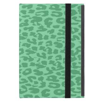 Textura del estampado de animales del leopardo 14 iPad mini funda
