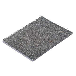 Textura del fondo de la carretera de asfalto cuadernos