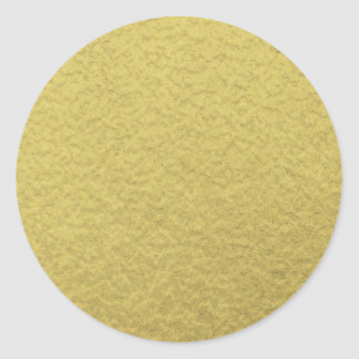 Textura del fondo de la hoja de oro pegatina redonda
