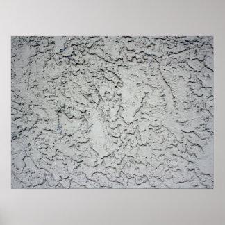 Textura del fondo de la pared del yeso del estuco impresiones