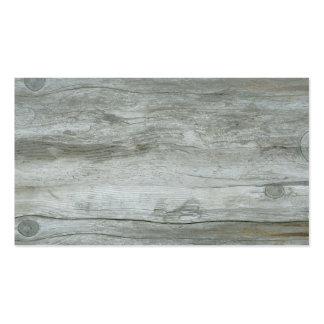 Textura del fondo del Driftwood Tarjetas De Visita