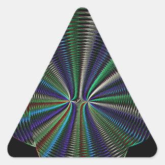 Textura del fractal calcomania trianguloada