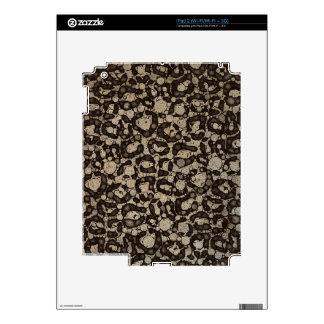 Textura del guepardo de Sofía Calcomanías Para iPad 2