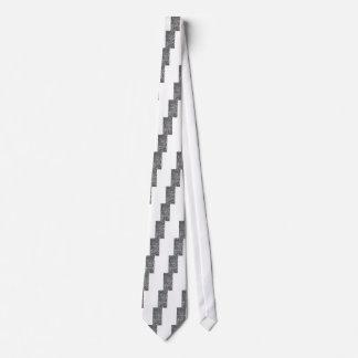 Textura del guijarro corbata