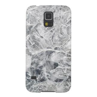 Textura del hielo carcasa galaxy s5