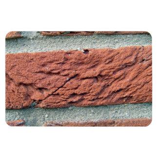 Textura del ladrillo rojo imán de vinilo