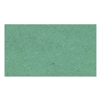 Textura del Libro Verde de verde menta Tarjeta De Visita