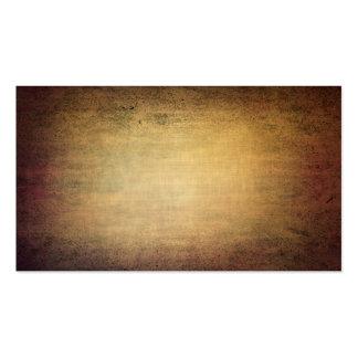 Textura del marrón del Grunge con la ilustración Tarjetas De Visita