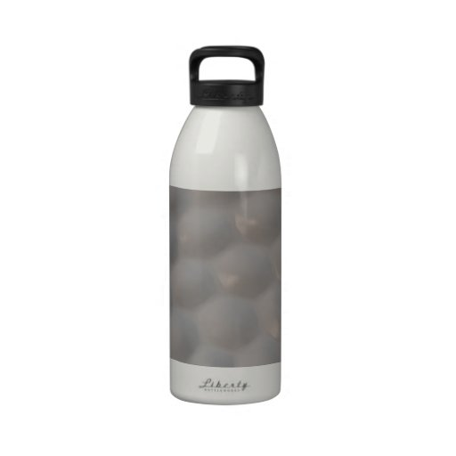 Textura del modelo de la pelota de golf botella de agua