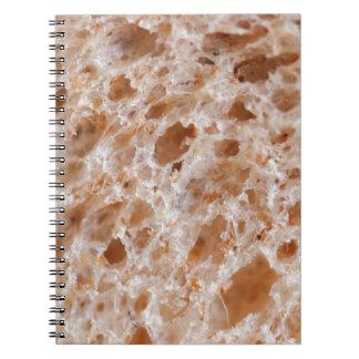 Textura del pan libros de apuntes