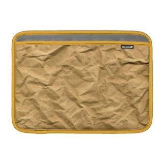 textura del papel de embalaje fundas macbook air