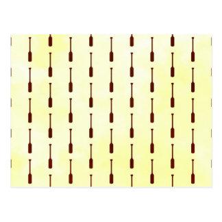 Textura del papel del modelo del remo postales
