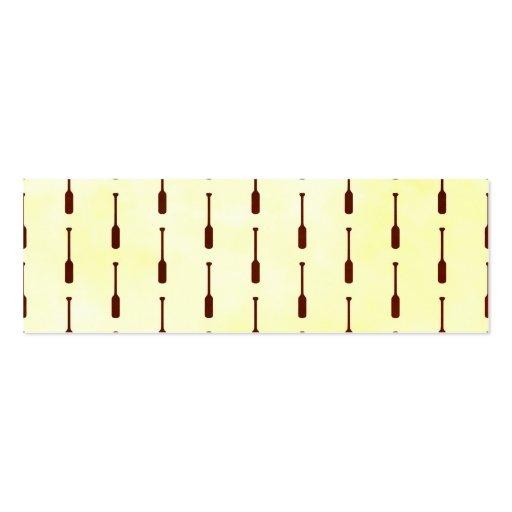 Textura del papel del modelo del remo plantillas de tarjetas personales