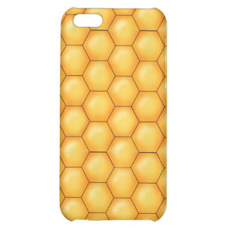 textura del peine de la abeja de la miel