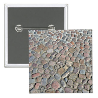 Textura del primer del pavimento de piedra viejo pins