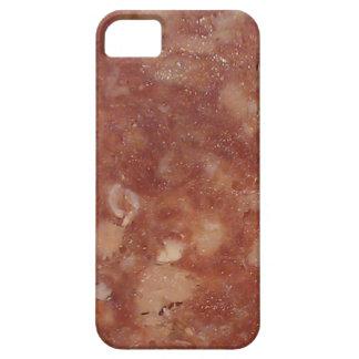 Textura del salami de Génova iPhone 5 Coberturas