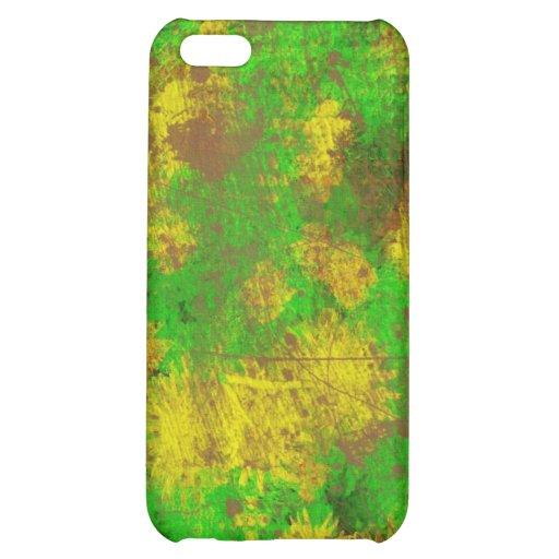 Textura del verde amarillo