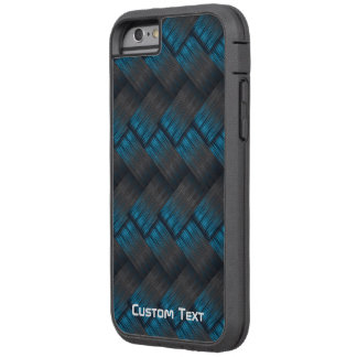 Textura dura de encargo de la armadura de la fibra funda tough xtreme iPhone 6