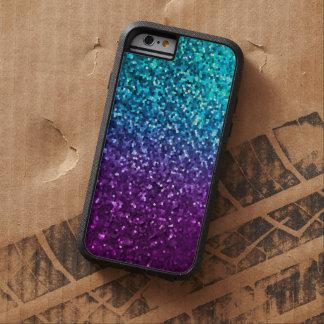 textura dura de la chispa del mosaico del caso del funda de iPhone 6 tough xtreme