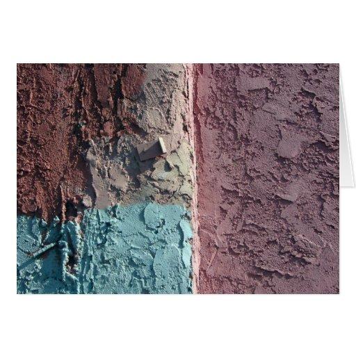 textura en colores pastel tarjeta de felicitación