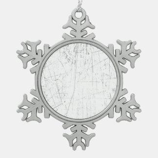 Textura envejecida y llevada del blanco rasguñado adorno