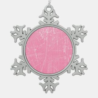 Textura envejecida y llevada del rosa rasguñado adornos