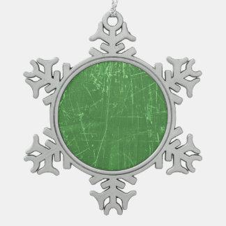 Textura envejecida y llevada del verde rasguñado adornos
