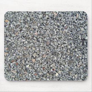 Textura floja de la piedra y de la grava tapetes de raton