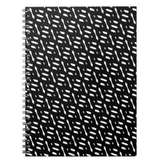 Textura/formas abstractas (llanas) libro de apuntes
